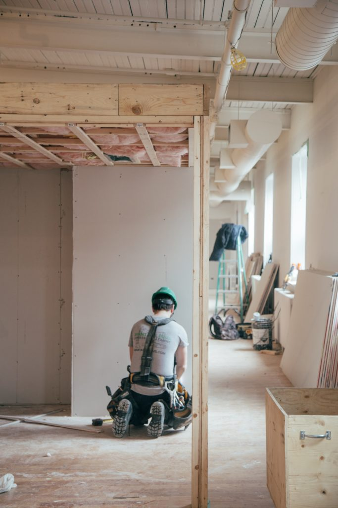 Marlings Home and Exterior - Framing